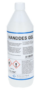 Handdes gel Security Partner